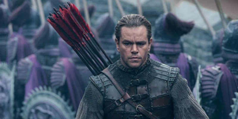 Matt Damon em destaque no trailer de «The Great Wall»