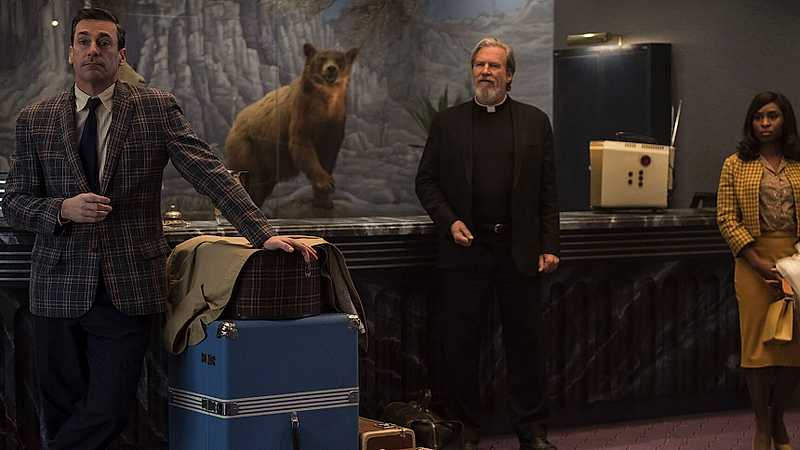 «Bad Times At The El Royale» (Sete Estranhos no El Royale) por Jorge Pereira