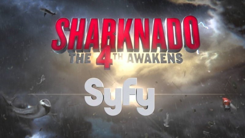 Teaser trailer de «Sharknado 4»