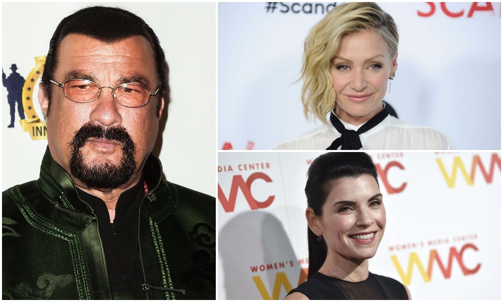 Atriz de Arrested Development acusa Steven Seagal de assédio sexual